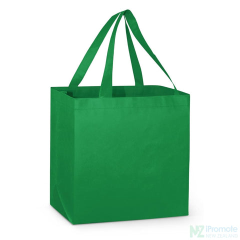 Image of Large Reinforced Shopper Tote Bag Dark Green Bags