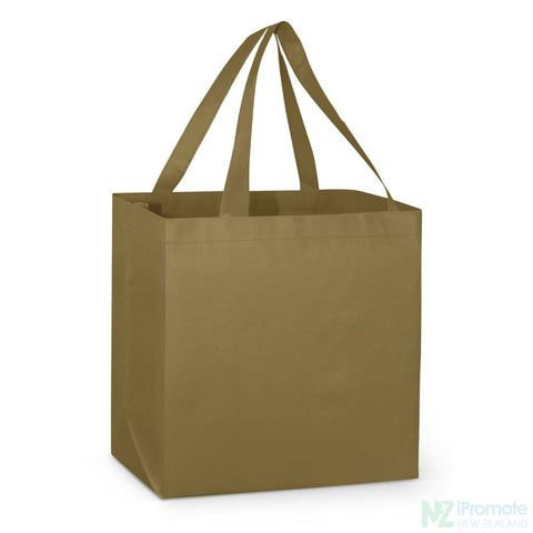 Image of Large Reinforced Shopper Tote Bag Khaki Bags