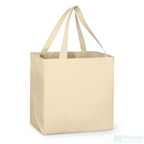 Image of Large Reinforced Shopper Tote Bag Natural Bags