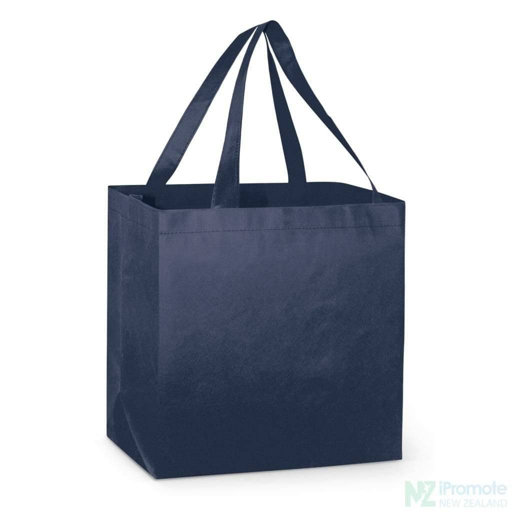 Large Reinforced Shopper Tote Bag Navy Bags
