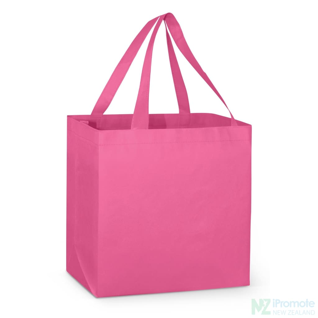 Large Reinforced Shopper Tote Bag Pink Bags