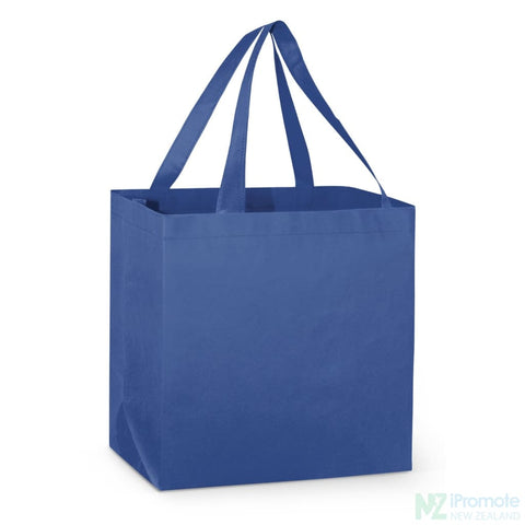 Image of Large Reinforced Shopper Tote Bag Royal Blue Bags
