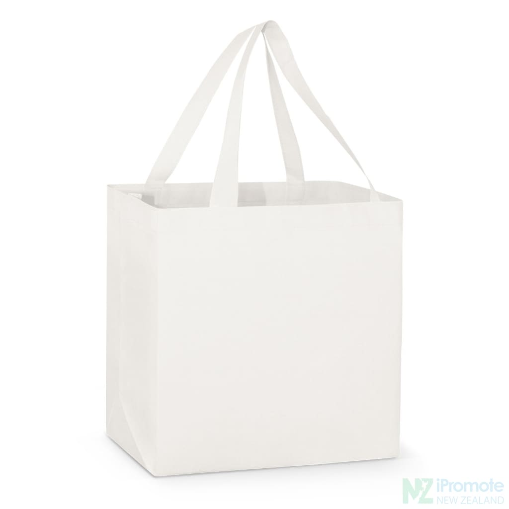 Large Reinforced Shopper Tote Bag White Bags