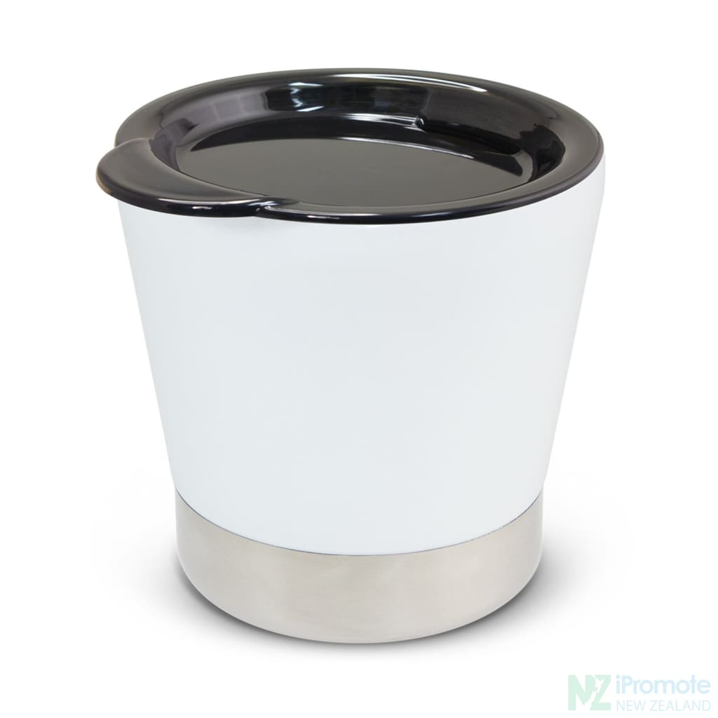 Low Profile Vacuum Cup White Cups