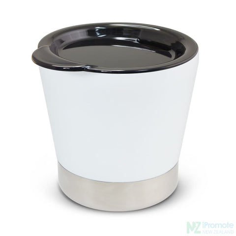 Image of Low Profile Vacuum Cup White Cups