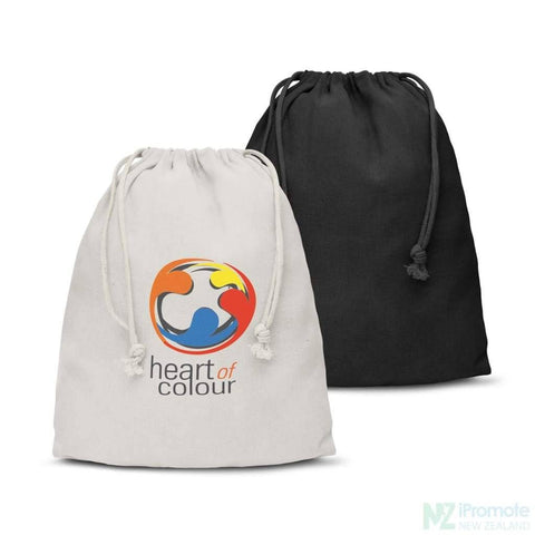 Medium Sized Cotton Drawstring Gift Bag
