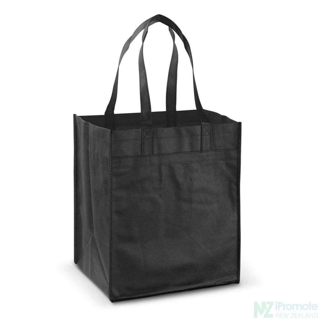 Mega Shopper Tote Bag Black Bags