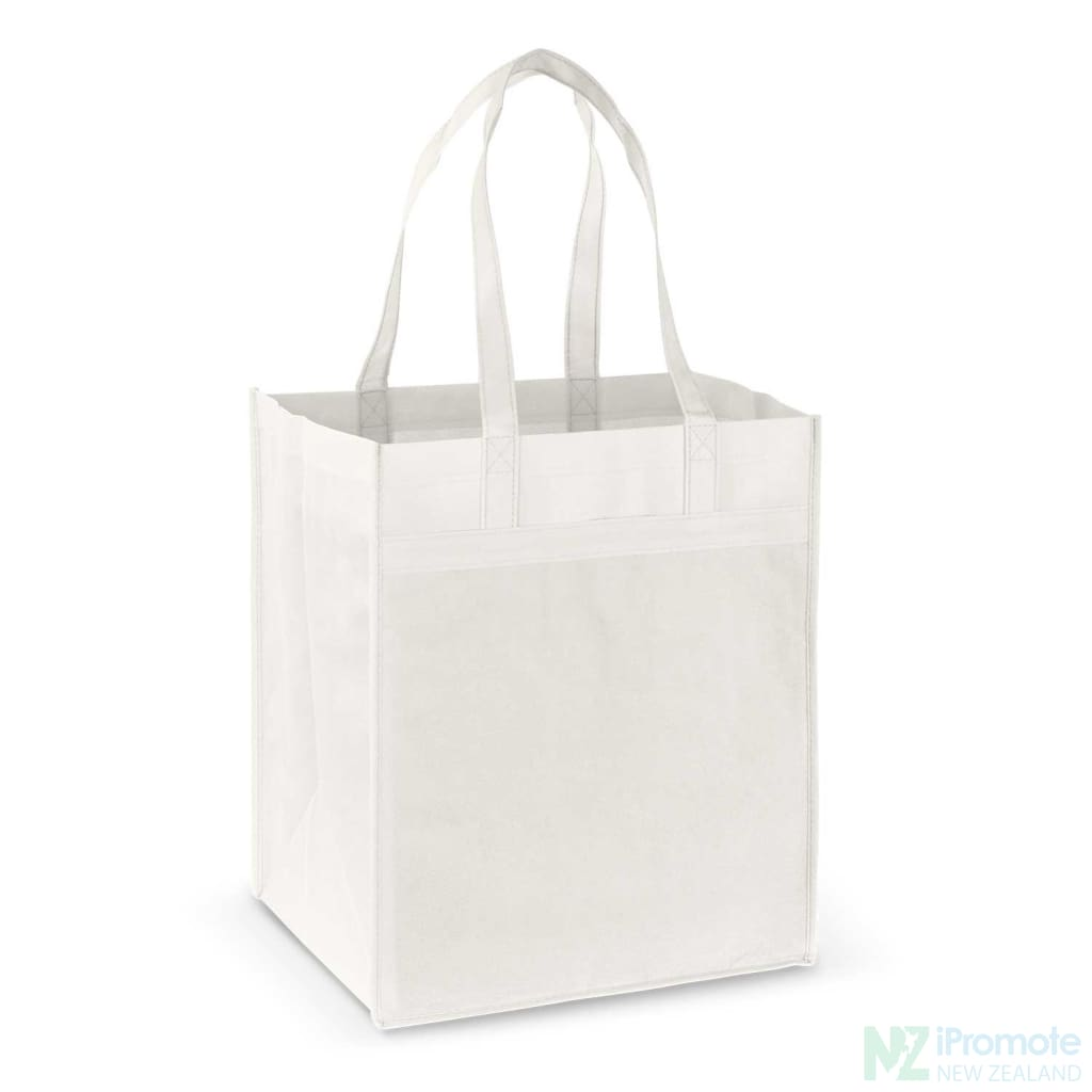 Mega Shopper Tote Bag White Bags