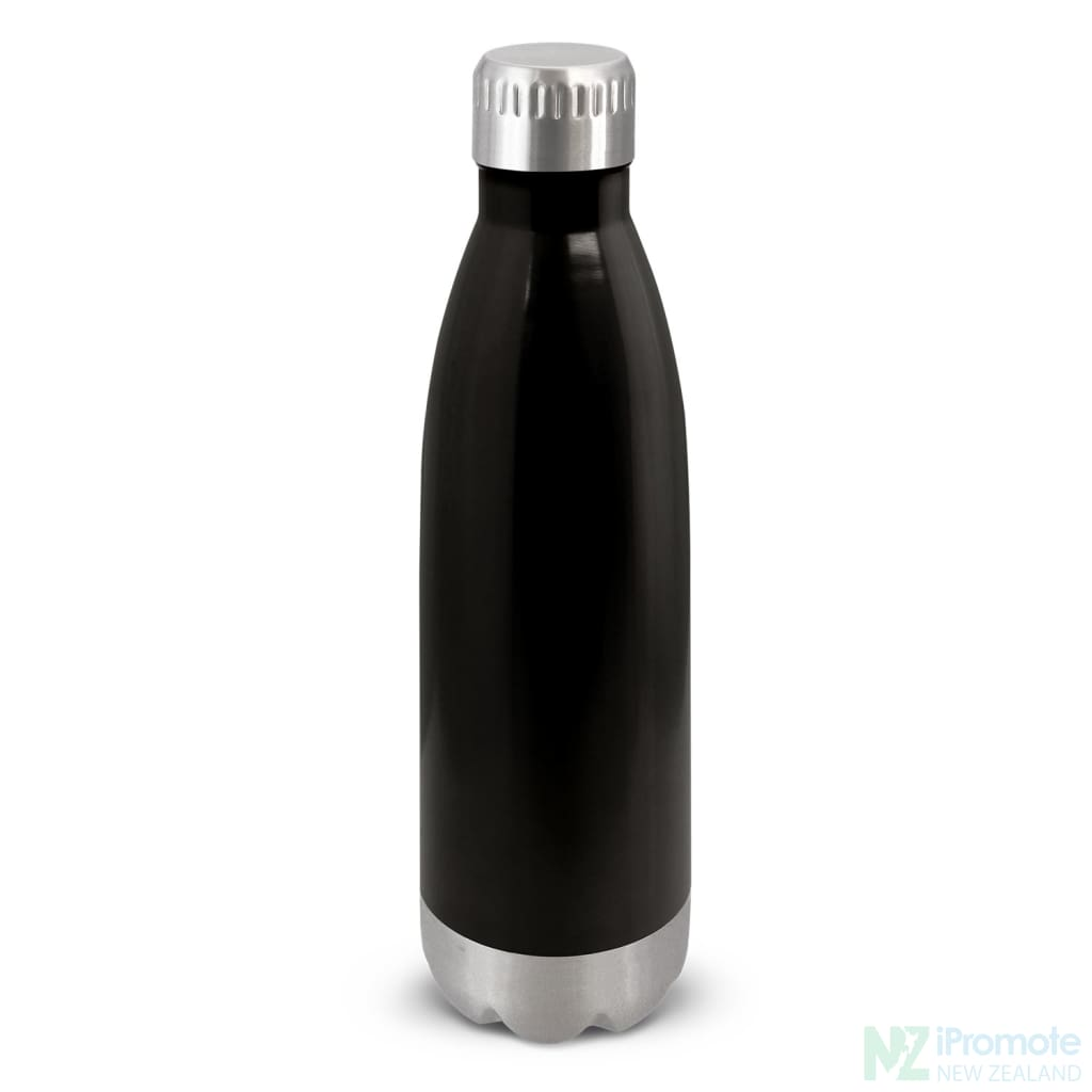 Mirage Metal Drink Bottle Black Stainless Steel Bottles