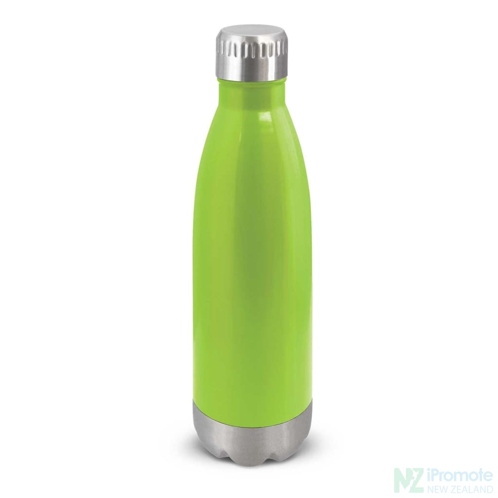 Mirage Metal Drink Bottle Bright Green Stainless Steel Bottles