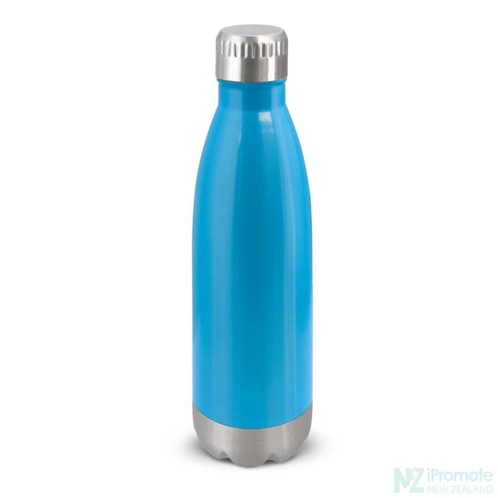 Mirage Metal Drink Bottle Light Blue Stainless Steel Bottles