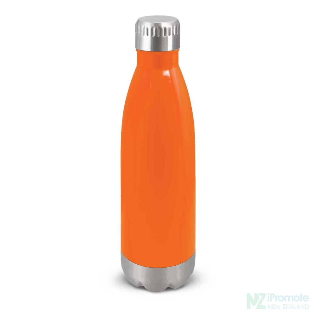Mirage Metal Drink Bottle Orange Stainless Steel Bottles