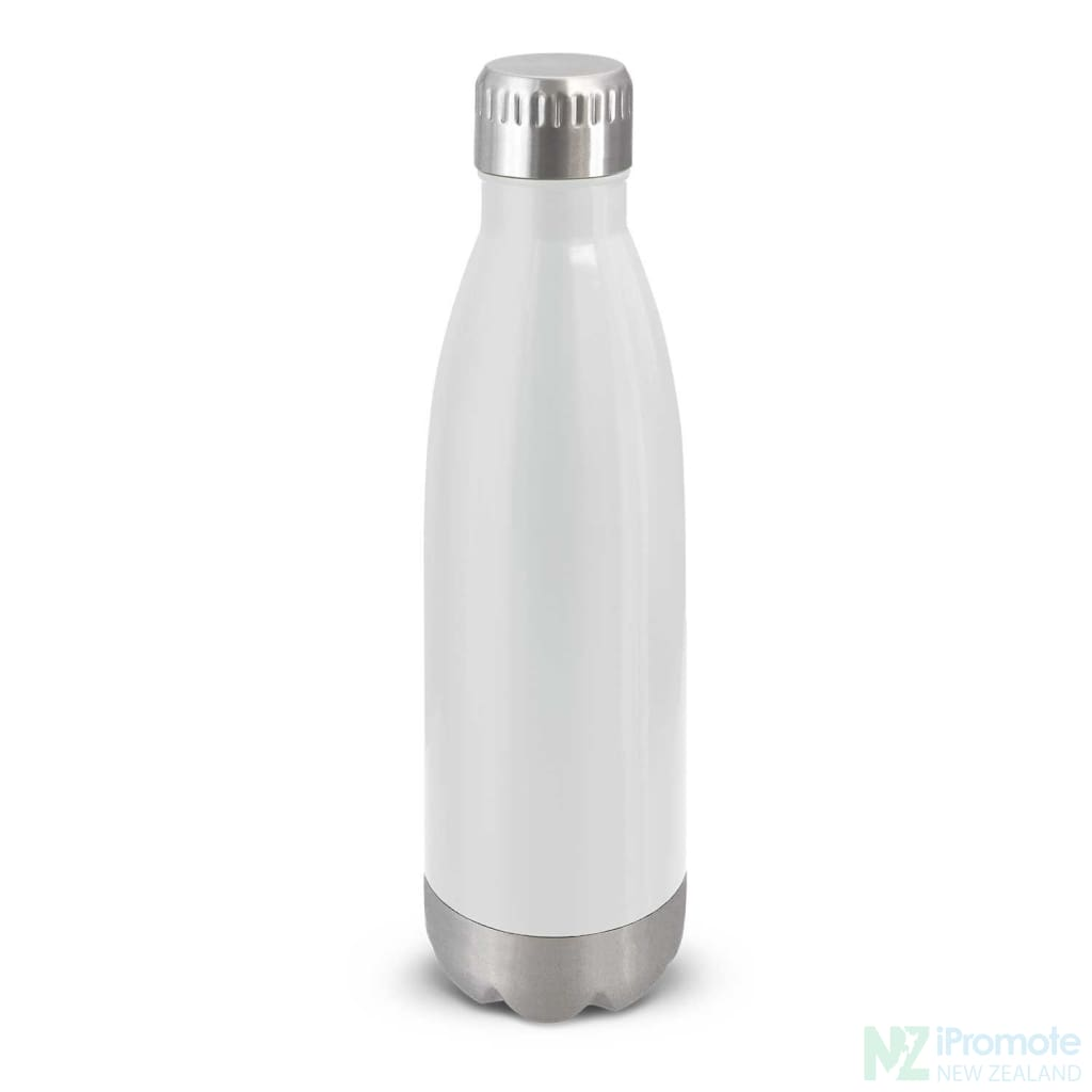 Mirage Metal Drink Bottle White Stainless Steel Bottles