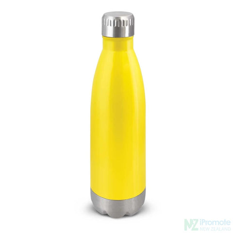 Mirage Metal Drink Bottle Yellow Stainless Steel Bottles