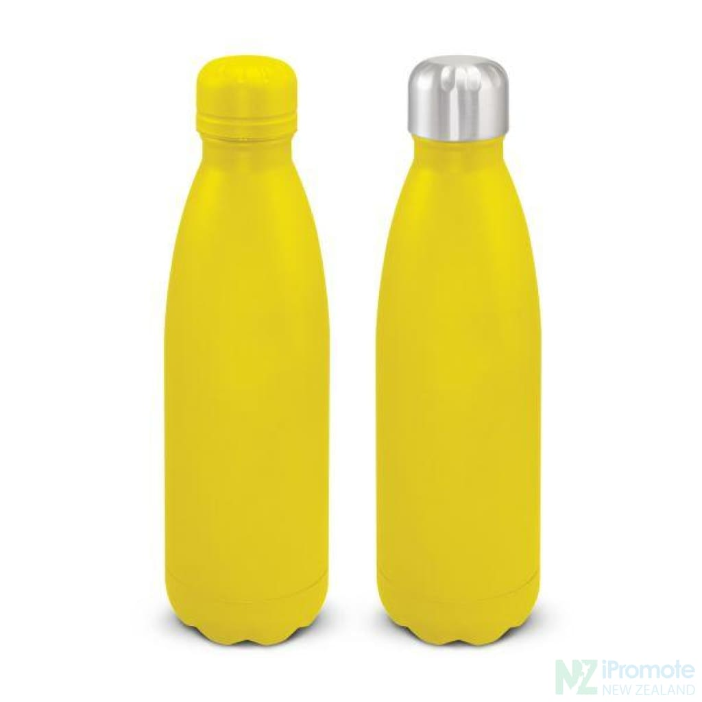 Mirage Powder Coated Vacuum Bottle Yellow / To Be Advised Drink Bottles