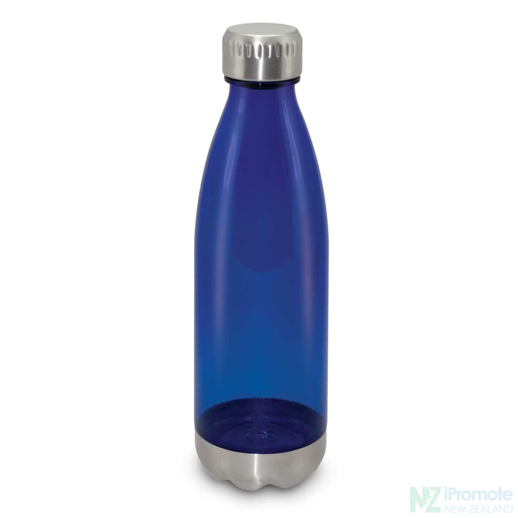 Mirage Translucent Bottle Dark Blue Plastic Bpa Free Drink