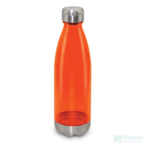 Image of Mirage Translucent Bottle Orange Plastic Bpa Free Drink