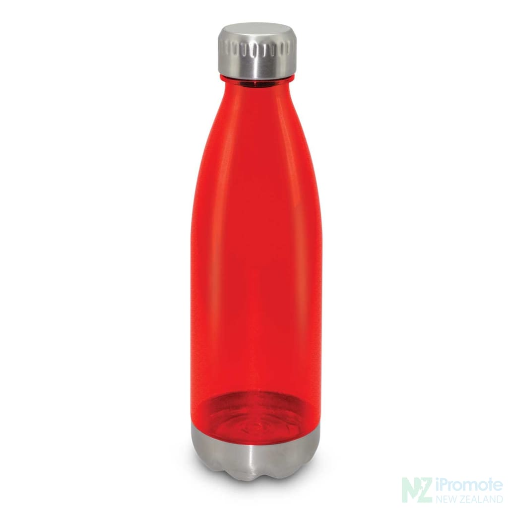 Mirage Translucent Bottle Red Plastic Bpa Free Drink
