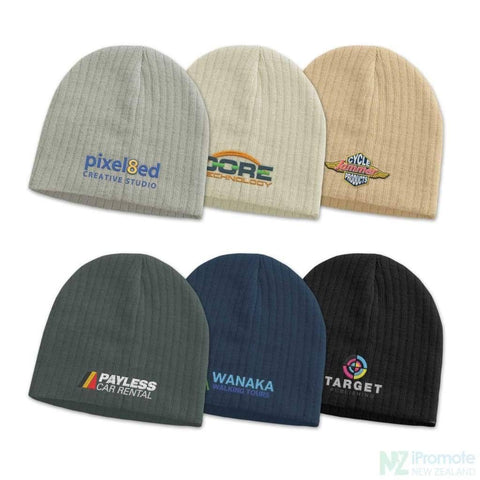Image of Nebraska Cable Knit Beanie Beanies