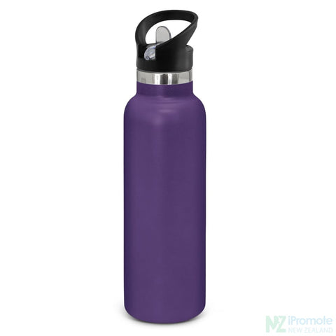 Nomad Deco Vacuum Bottle Purple Drink Bottles
