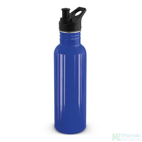 Nomad Stainless Steel Drink Bottle Dark Blue Bottles