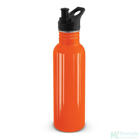 Nomad Stainless Steel Drink Bottle Orange Bottles