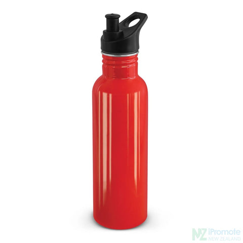 Nomad Stainless Steel Drink Bottle Red Bottles