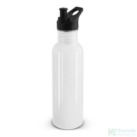 Nomad Stainless Steel Drink Bottle White Bottles