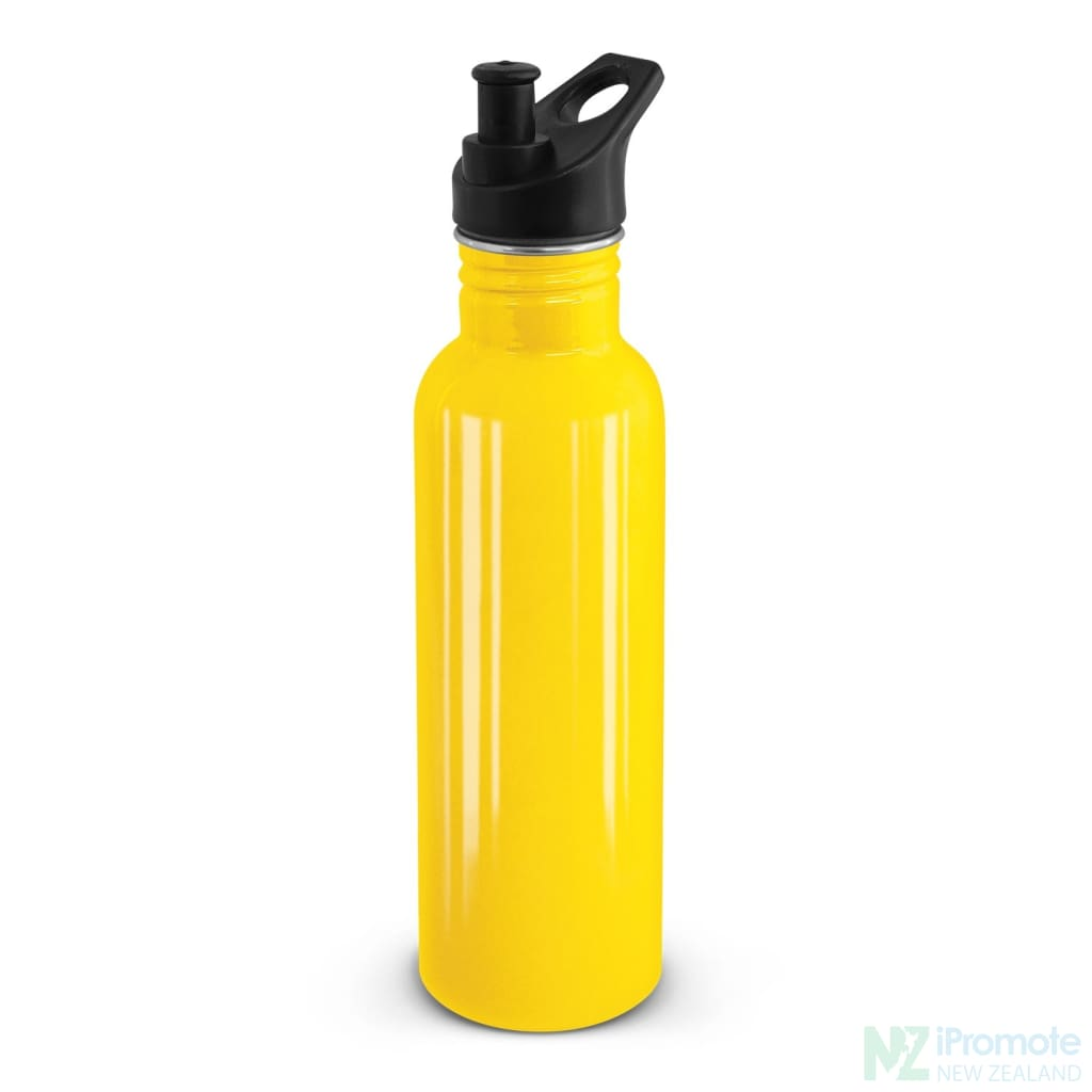 Nomad Stainless Steel Drink Bottle Yellow Bottles