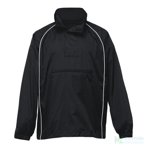 Nylon Jac Pac Spray Jacket Black/black/white Jackets