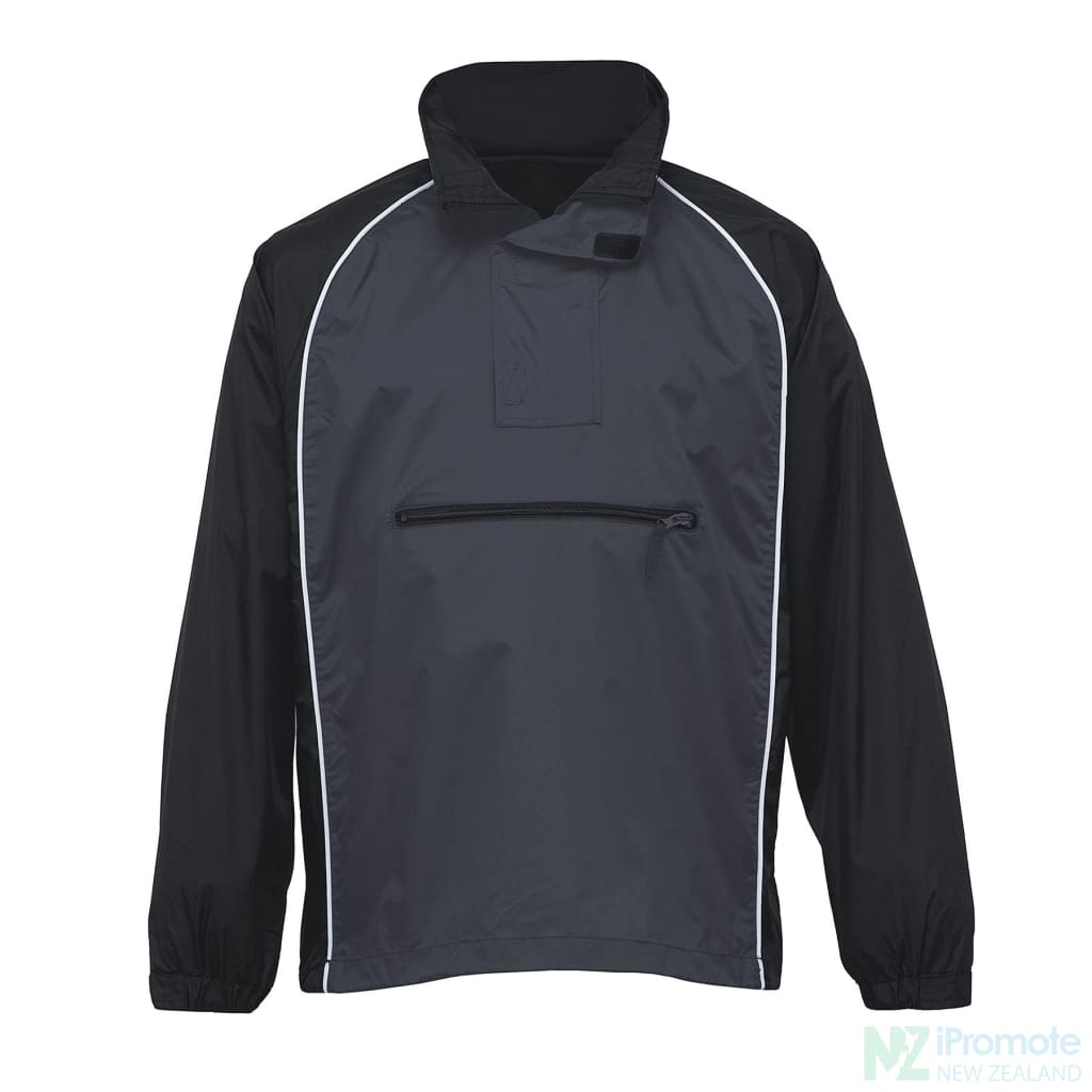 Nylon Jac Pac Spray Jacket Black/charcoal/white Jackets