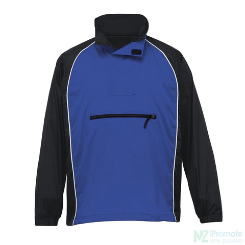 Nylon Jac Pac Spray Jacket Black/royal/white Jackets