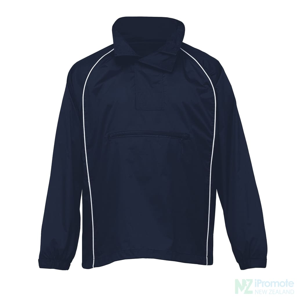 Nylon Jac Pac Spray Jacket Navy/navy/white Jackets
