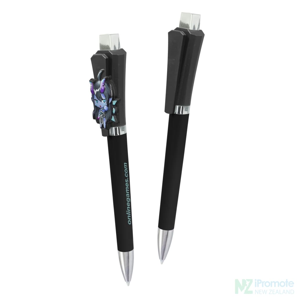 Optimus Pen | Ipromote Nz Black Plastic Pens