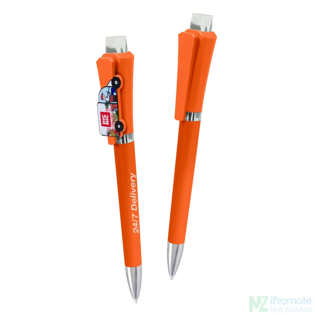 Optimus Pen | Ipromote Nz Orange Plastic Pens