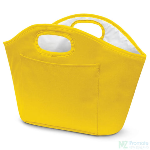 Party Ice Bucket Yellow Cooler Bag