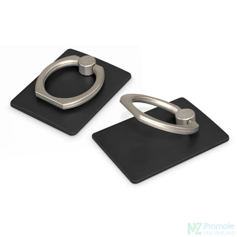 Phone Grip Stand Black Tech Accessories