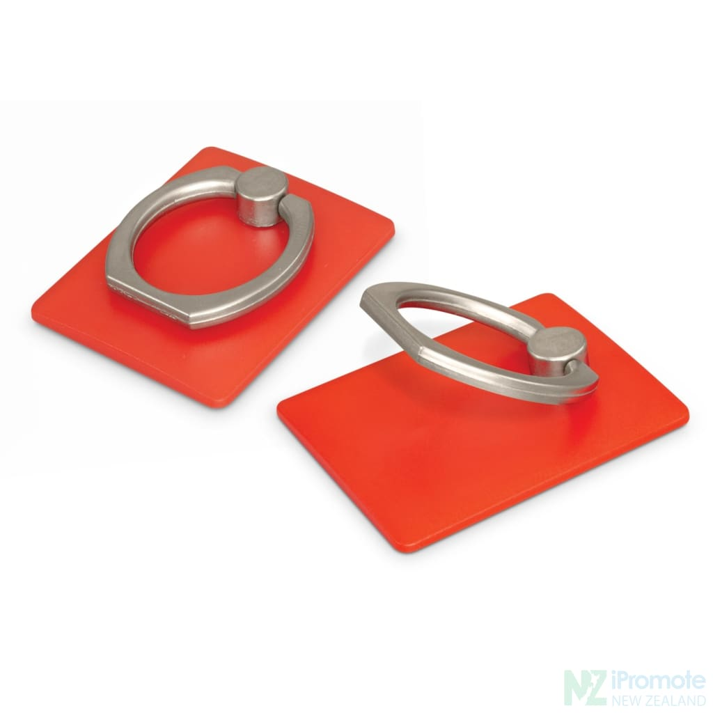 Phone Grip Stand Red Tech Accessories