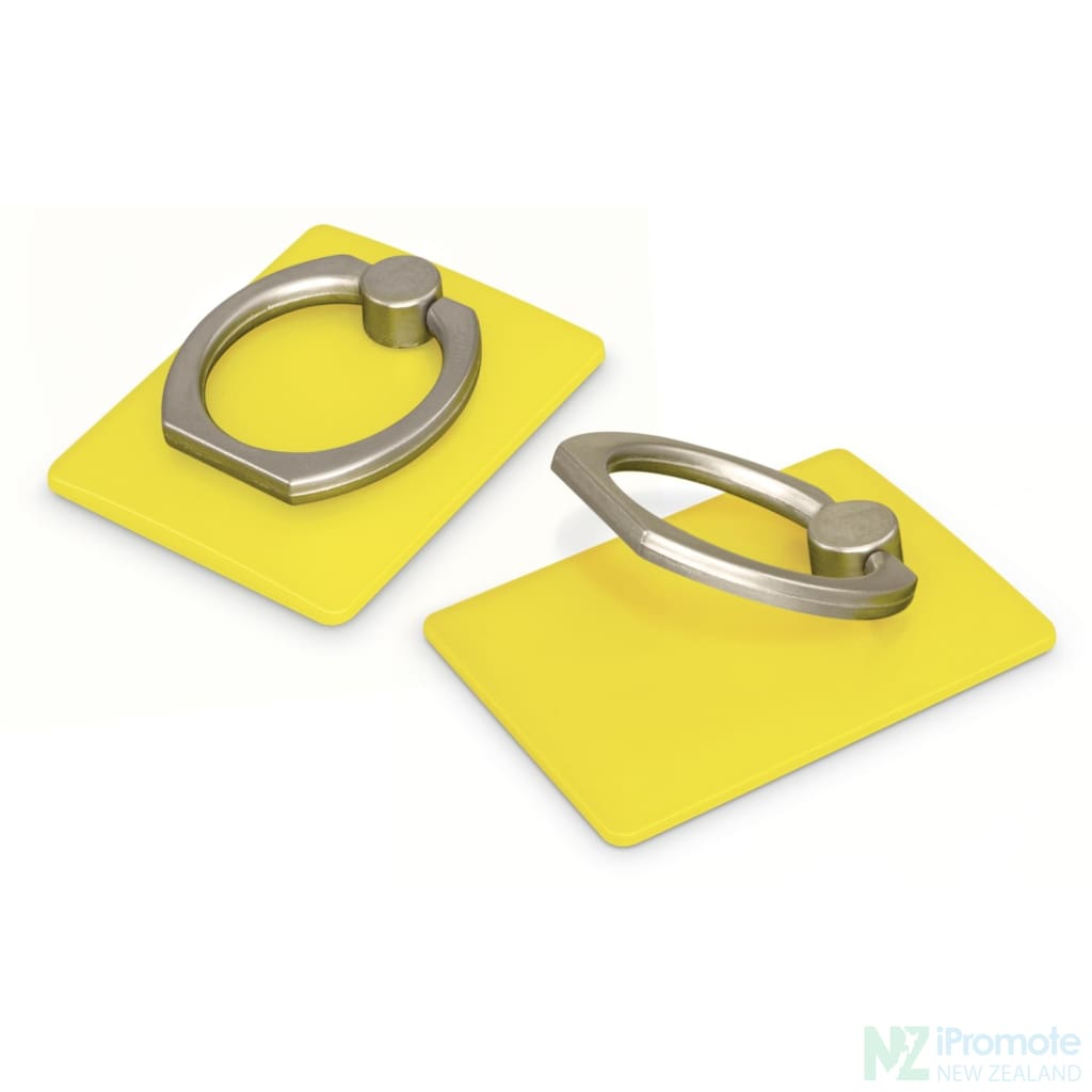 Phone Grip Stand Yellow Tech Accessories