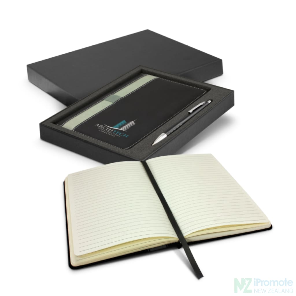 Prescott Notebook And Pen Gift Set Notebooks