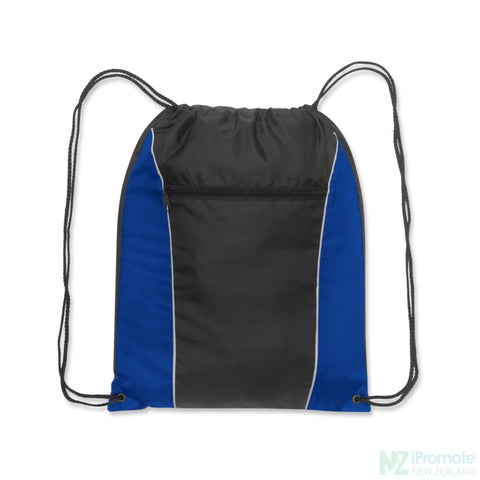 Ranger Drawstring Backpack Blue/black Bag