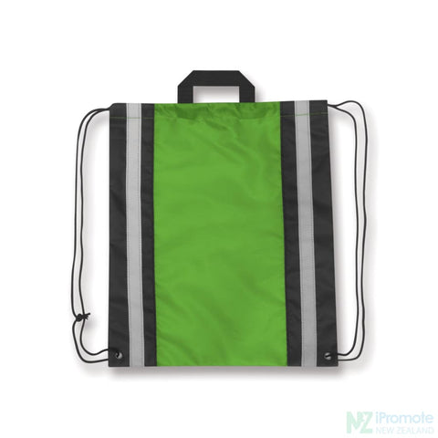 Reflecta Drawstring Backpack Bright Green Bag