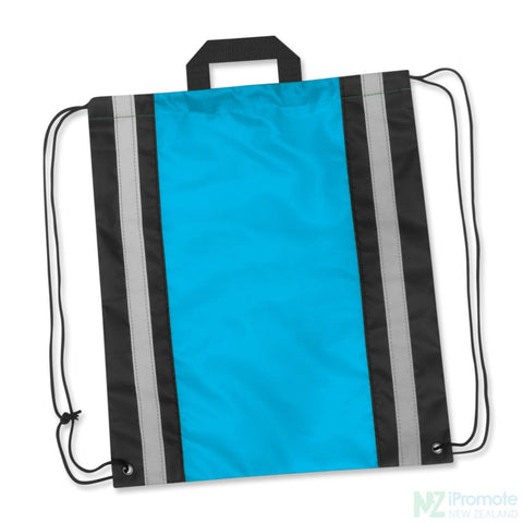 Reflecta Drawstring Backpack Light Blue Bag