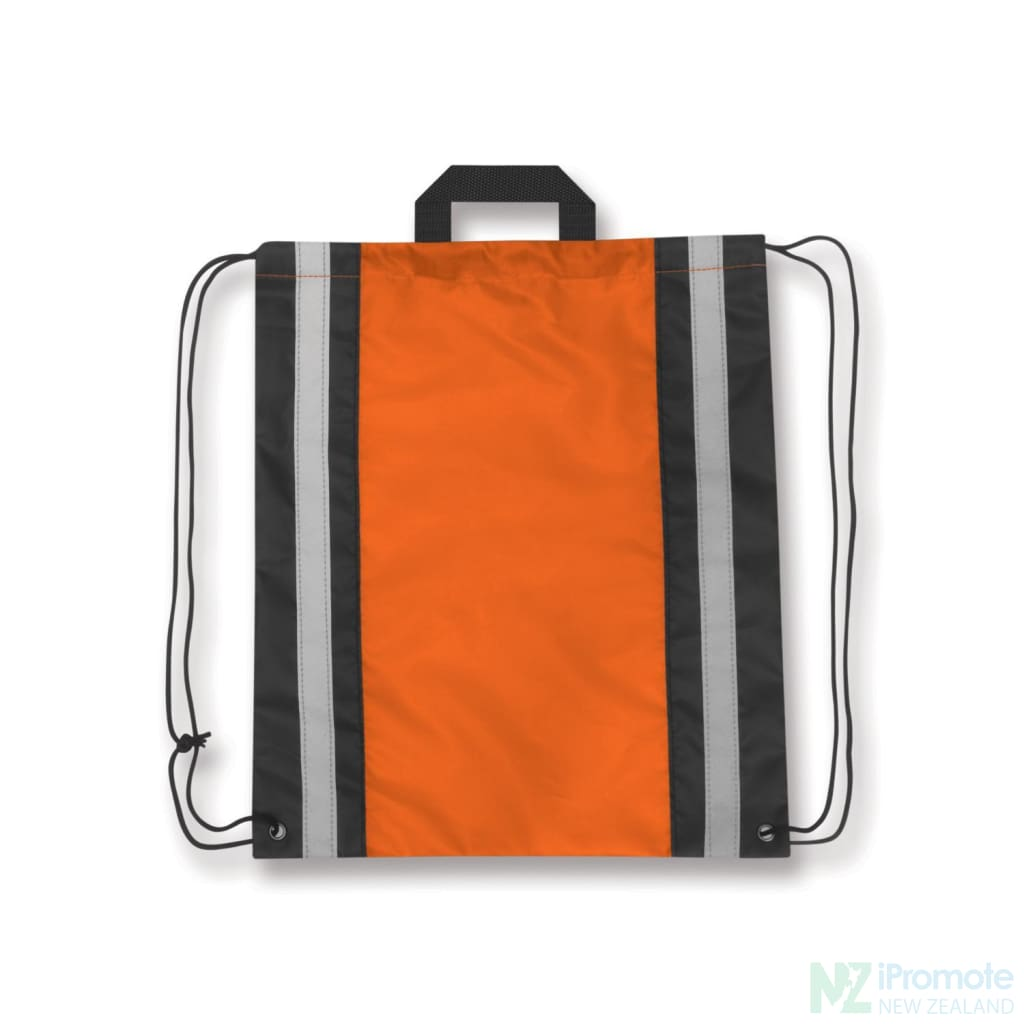 Reflecta Drawstring Backpack Orange Bag