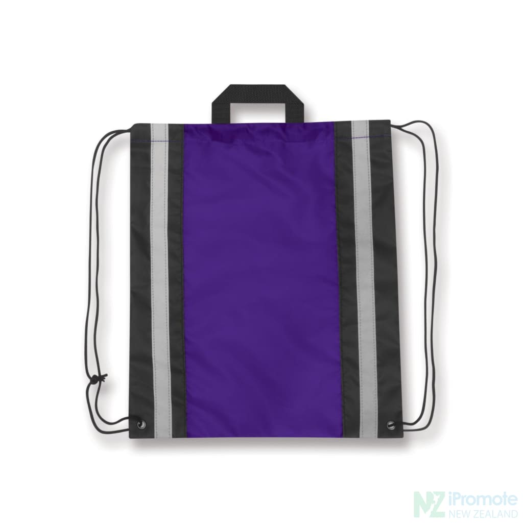 Reflecta Drawstring Backpack Purple Bag