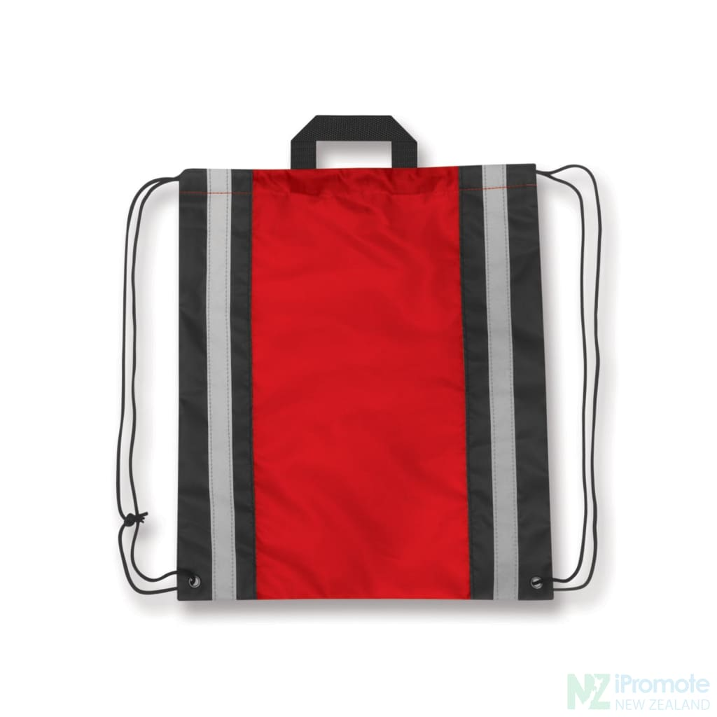 Reflecta Drawstring Backpack Red Bag