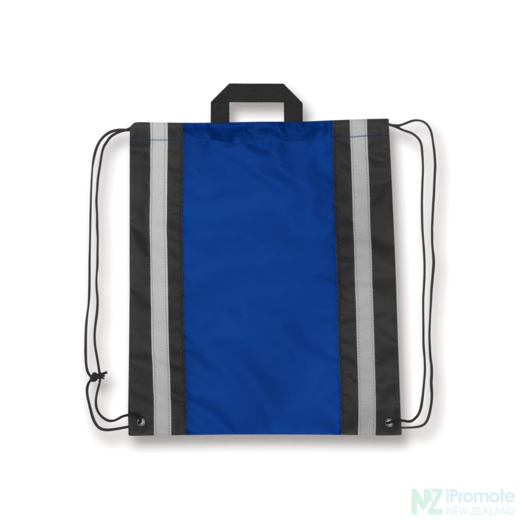 Reflecta Drawstring Backpack Royal Blue Bag