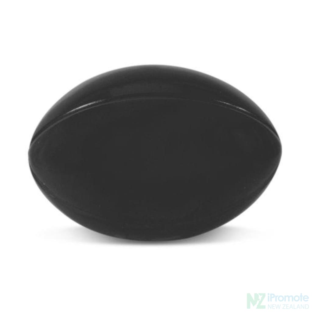 Rugby Ball Stress Reliever Black Relievers