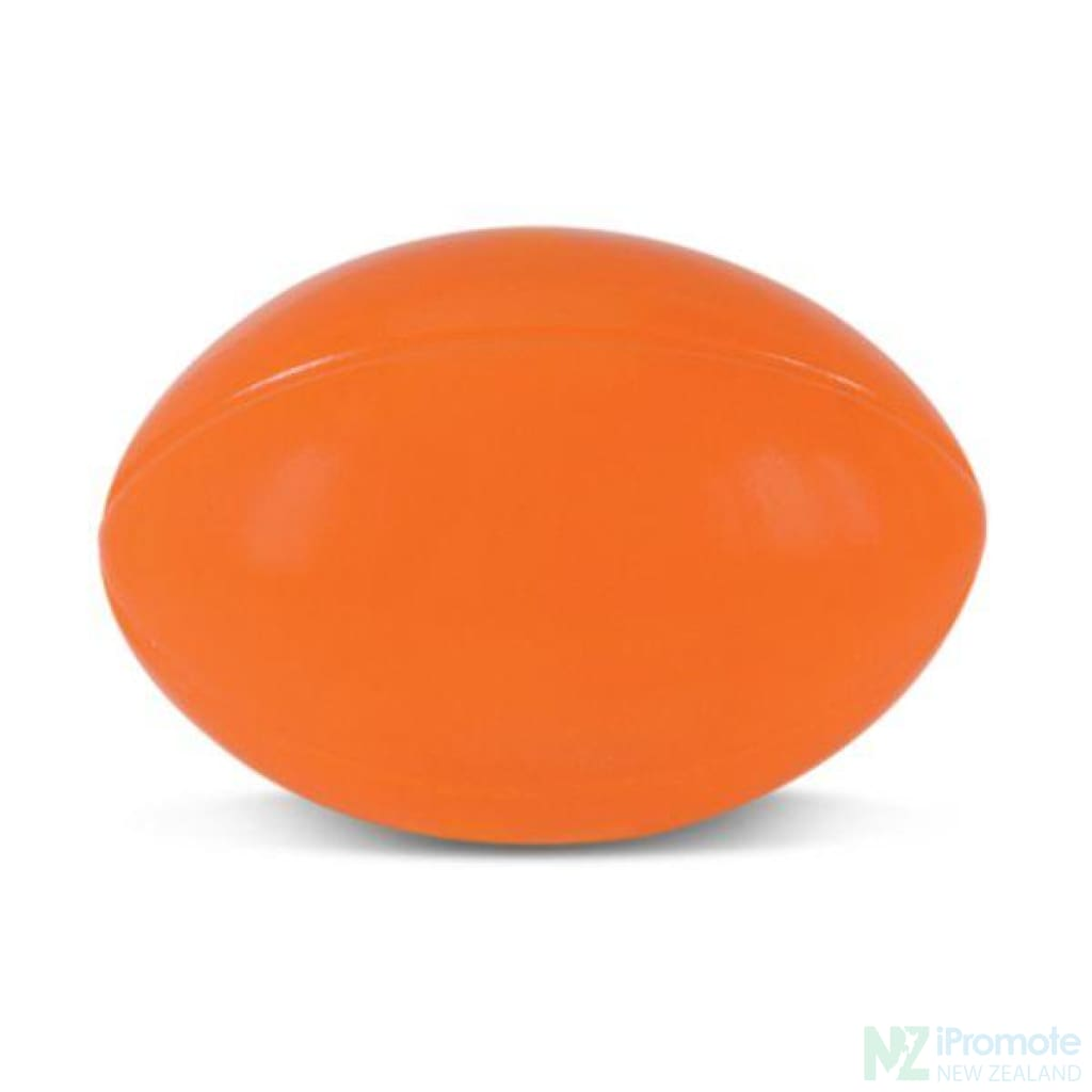 Rugby Ball Stress Reliever Orange Relievers