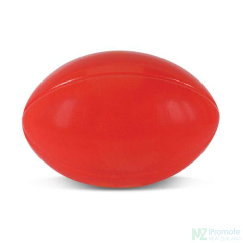Rugby Ball Stress Reliever Red Relievers